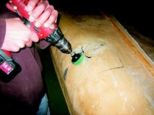 boat repairs with epoxy